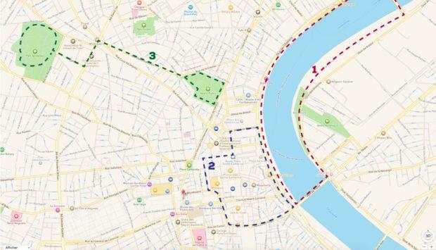 Descubre el Plano para los Runner en Bordeaux