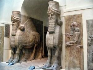 Procedentes del imperio Asirio.
