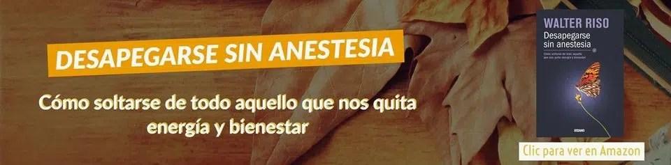 despegarse sin anestesia