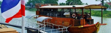 Crucero Thanatharee por Ayutthaya