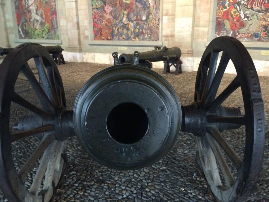 Cañon del antiguo arsenal de Ginebra