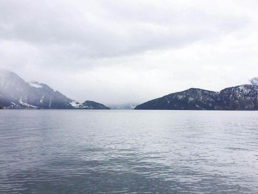 Lago de los Cuatro Cantones de Suiza