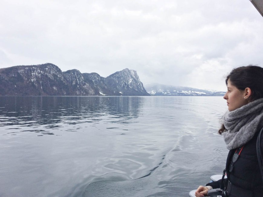 Paseo en barco por el Lago de los Cuatro Cantones