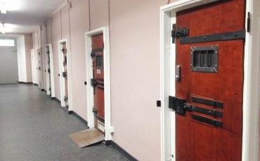 Pasillo del hotel prisión de Lucerna
