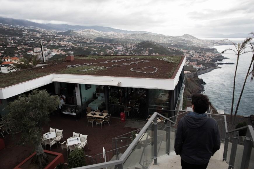 Cafeteria en Teleferico do Rancho en Madeira