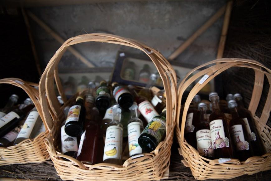 Cata de vinos en Casa Da Serra en Porto Santo, Madeira