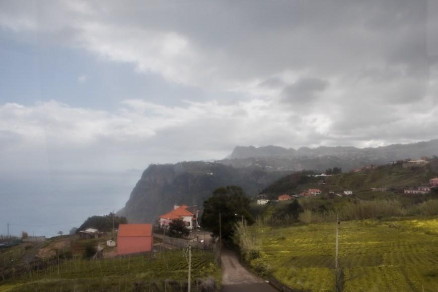 Vistas des del faro de Sao Jorge en el noreste de Madeira