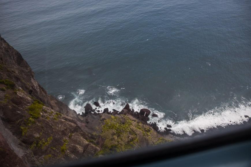 Vistas des del teleferico do navio en Santana, Madeira