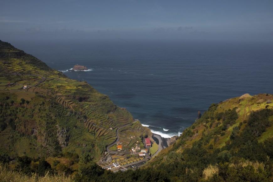 Ribeira da Janela en el norte de Madeira