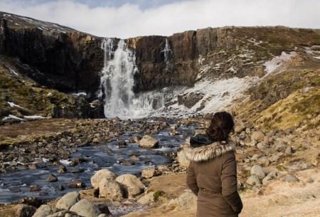 Cascada gufufoss en Islandia