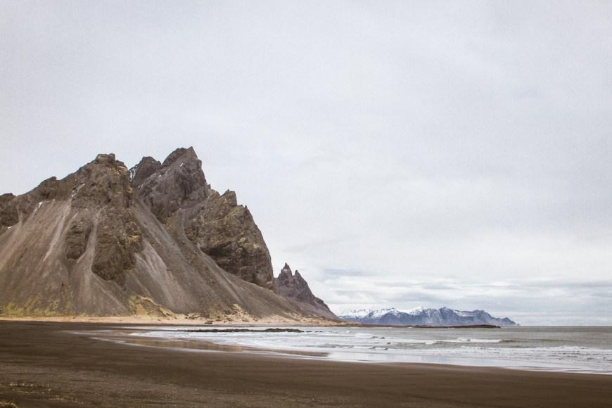 Stokksnes Beach, Islandia