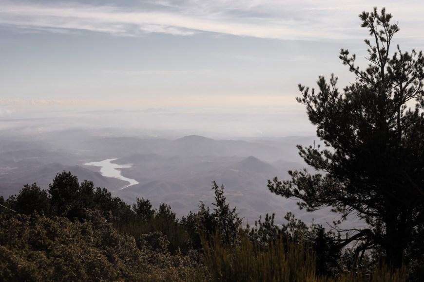 Vistas des del Cim del Moixer en el Alt Empordà