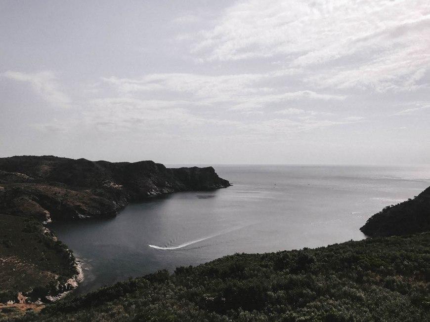 Paisaje des de Cap Norfeu, Costa Brava