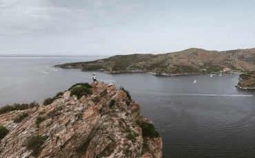 Anna en Cap Norfeu, Costa Brava