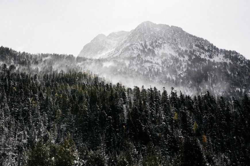 Paisajes de camino a l'Estany Llong des del Planell d'Aigüestortes, La Val d'Aran