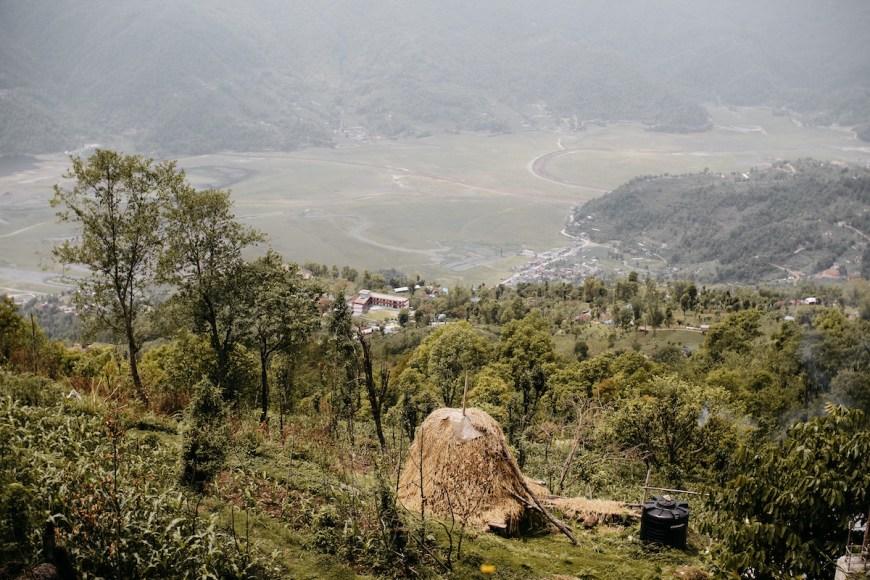 Vistas del Sarangkot, Nepal