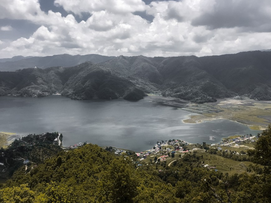 Lago Fewa visto des del Sarangkot, Nepal