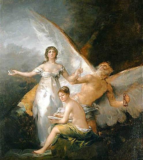 La verdad, el Tiempo y la Historia (Goya)