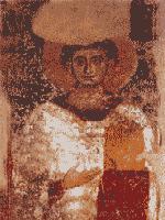 Fresco donde se representa a Arrio