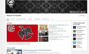 Canal de Youtube de Historia en Youtube.