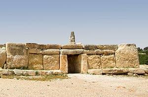 Estructuras megaliticas en la isla de Malta
