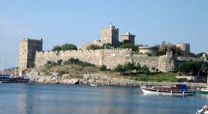 Castillo de los Caballeros de San Juan (Orden de Malta) en Bodrum, donde Aruj fue apresado.