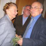 Julia Hartwig, Anders Bodegard y Ryszard Kapuscinski (Wikimedia).