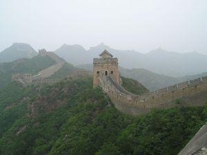 Muralla china (Wikimedia).