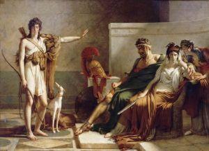 'Fedra e Hipólito' (1802), de Pierre Narcisse Guérin (Museo del Louvre).