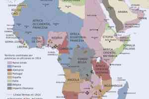 Los europeos asaltan África (1880-1914). (Juan Pérez Ventura).