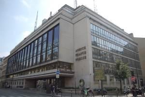 Sede de la Agence France-Presse (AFP) en París (Wikimedia).