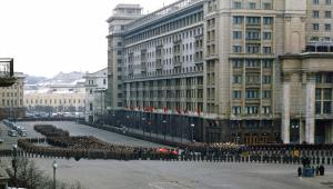 Funeral de Stalin (1953) (Wikimedia).