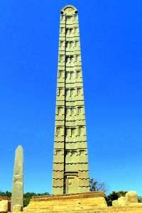 Obelisco de Aksum (Esther Núñez).