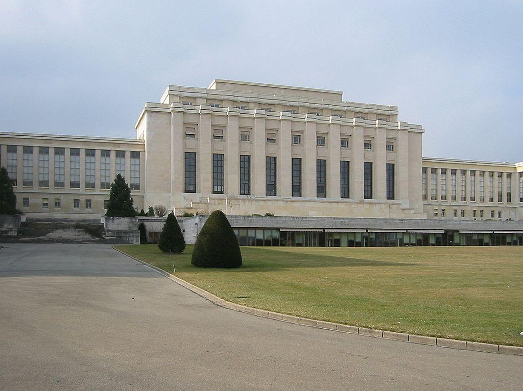 Palacio de las Naciones sede de la SDN en Ginebra (Wikimedia).