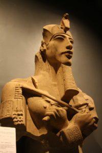 Busto de Akhenatón, Museo de Luxor (Foto: Aroa Velasco).
