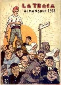 'La Traca', 1932 almanaque (Wikimedia).