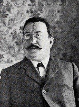 Enric Prat de la Riba 1908, fundador de la Lliga Regionalista de Catalunya