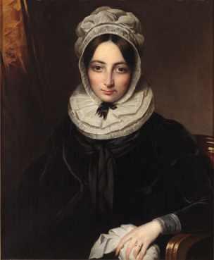 Pintura al óleo. María Teresa del Riego. Obra de Benjamin de la Cour. Museo del Romanticismo (Wikimedia).