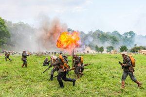 Recreación histórica. Evento 'Operación Boyen'. (Tomasz Karolski).