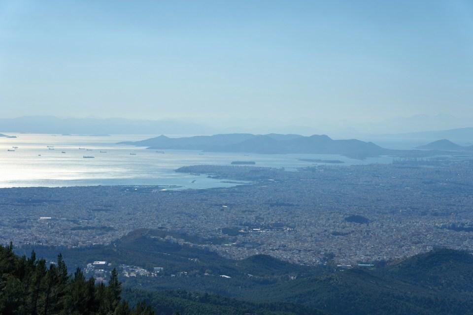 Vista aérea del Pireo (Cristo Vlaho, Wikimedia)
