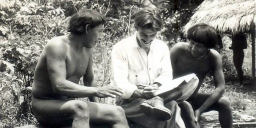 Darcy Ribeiro e índios Urubu-Kapoor