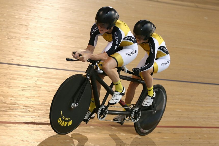 Amanda Cameron e Hannah van Kampen – Ciclismo Paralímpico Tandem