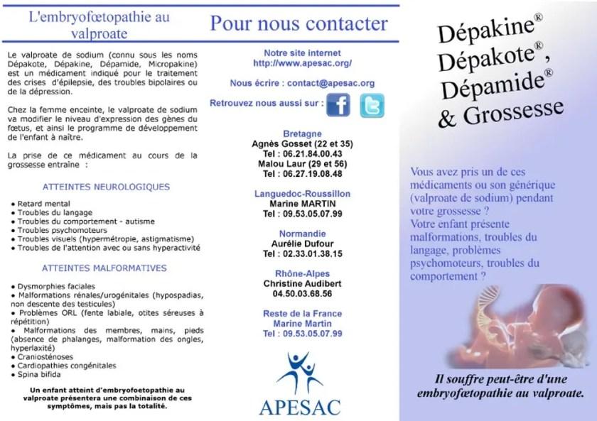 L'Embryofoetopathie au Valproate par @apesac1
