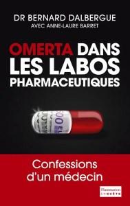 Omerta dans les labos pharmaceutiques, book image