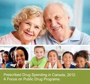 Prescribed Drug Spending in Canada 2012 cover image