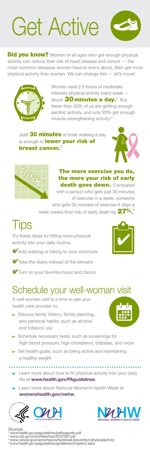 National Women's Health Week 2014 - Get Active