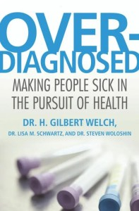 Overdiagnosed book cover image