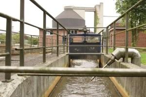 image of a sewage plant