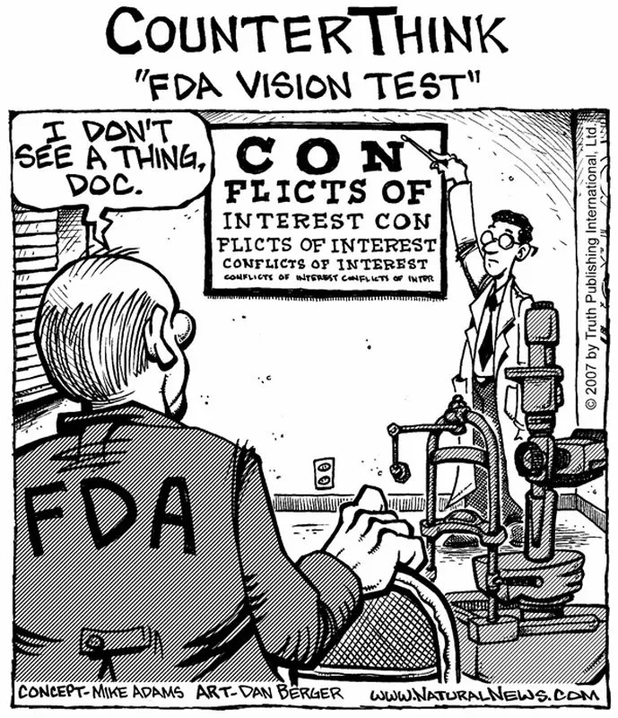 FDA-vision-test comics
