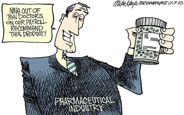 big-pharma cartoon